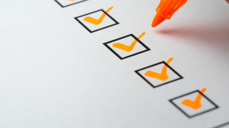 Checklist incompanytrainingen