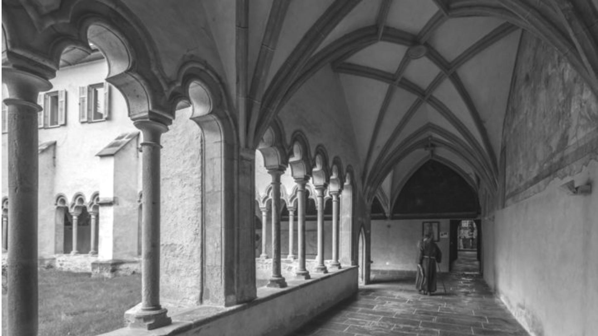 Het klooster in