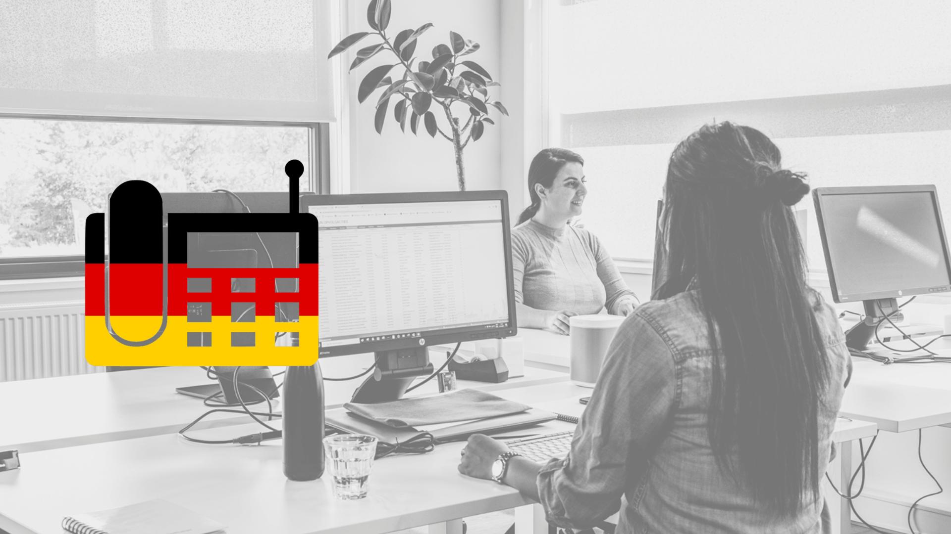 Zakelijk telefoneren in het Duits , de Taaltrainer, Nederlands taaladvies