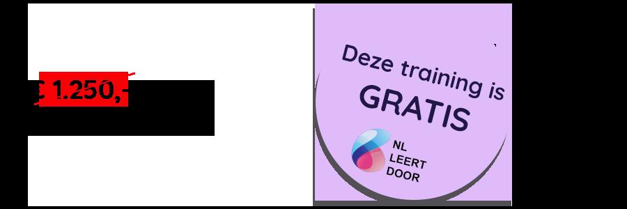 Prijs van de gratis training Technisch Engels of Technisch Duits