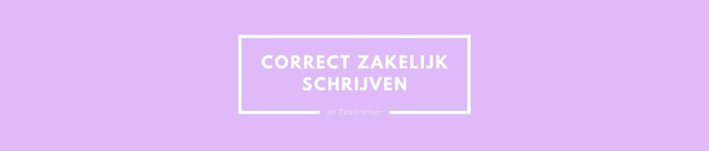 De Cursus Zakelijk Nederlands alles wat je moet weten de taaltrainer-2
